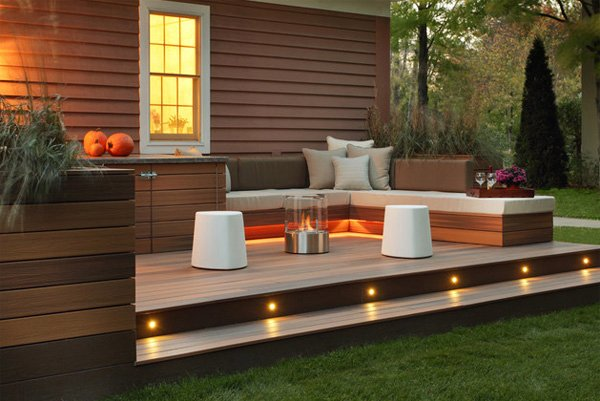 deck area - Deck Lighting Ideas