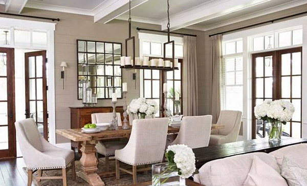 Catch Simplicity And Elegance In 15 Transitional Dining Rooms Home Design Lover