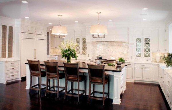 White Farmhouse Kitchen 15 traditional and white farmhouse kitchen designs | home design lover