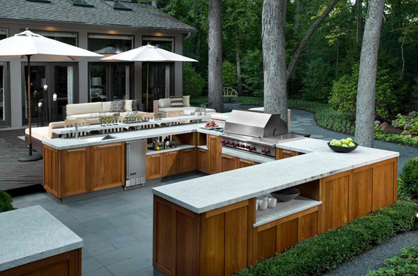 indoor outdoor kitchen designs 15 awesome contemporary outdoor kitchen designs home 4661