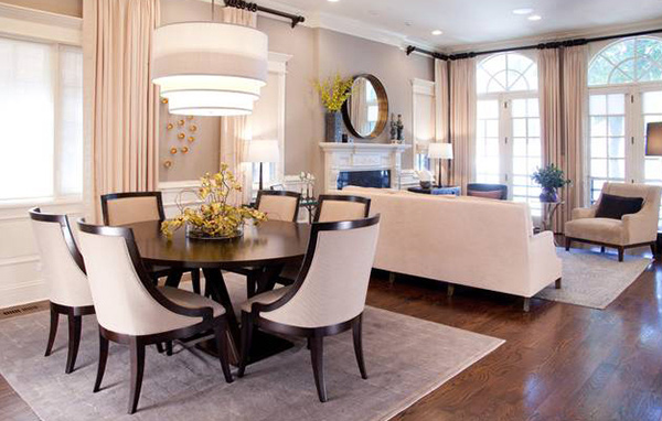 Catch Simplicity and Elegance in 15 Transitional Dining Rooms ...