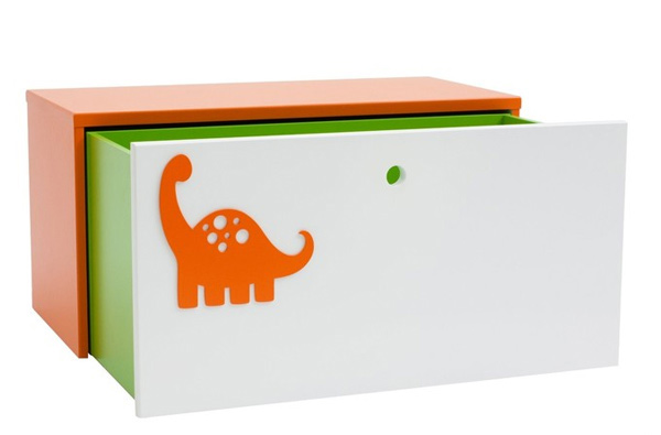 Bright colored storage box