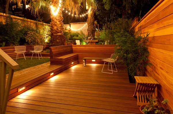 15 MustSee Deck Lighting Ideas Home Design Lover