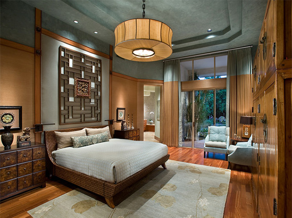 . 15 Asian Themed Masters Bedroom   Home Design Lover