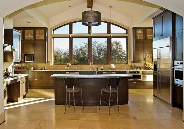 High Quality U Shape Kitchen Plan