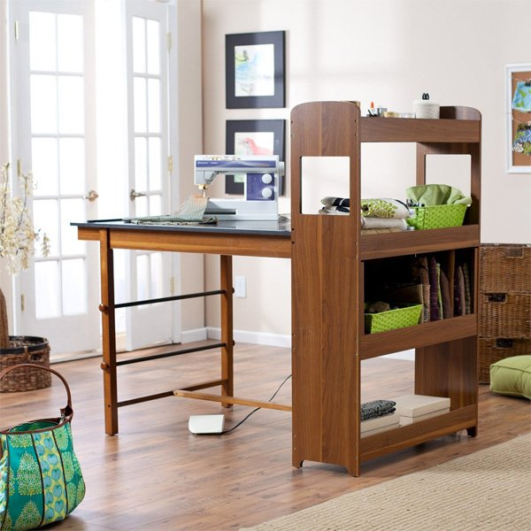 16 Crafting Table With Storage To Indulge In Creativity Home Design Lover