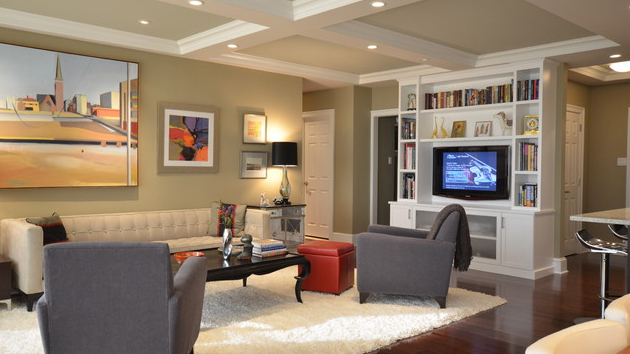 Coffered Ceilings In 15 Contemporary Living Rooms Home Design Lover