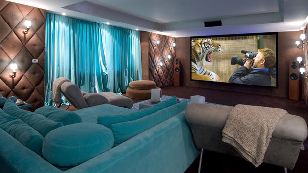 15 Contemporary Media Room Designs