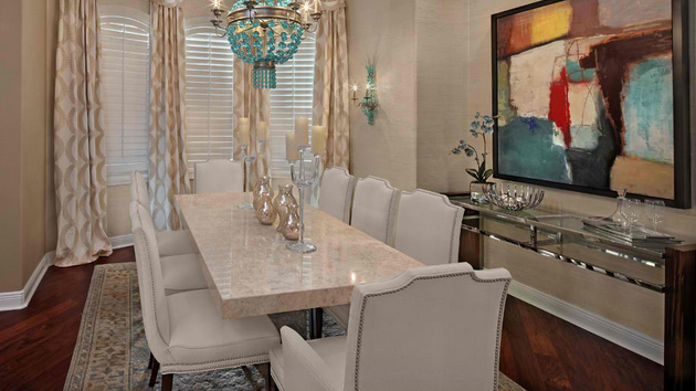 15 Stunning Granite Top Dining Room Tables Home Design Lover