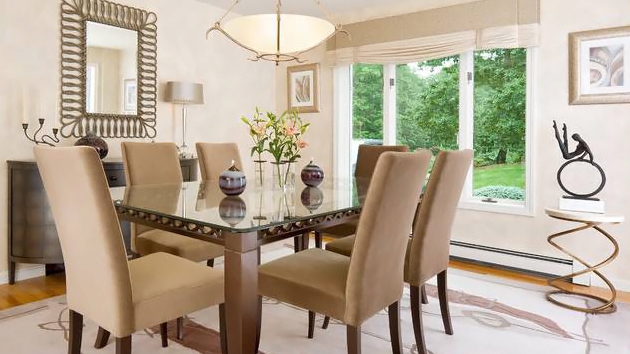 Catch Simplicity And Elegance In 15 Transitional Dining