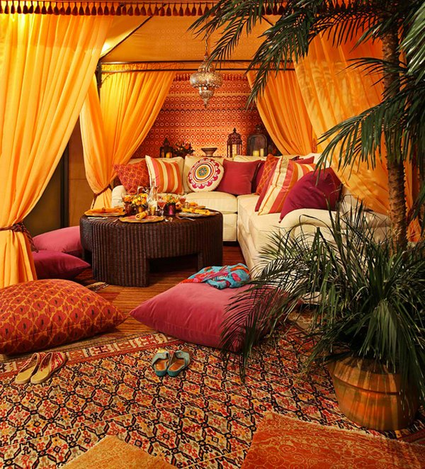 Charmant Moroccan Living Rooms