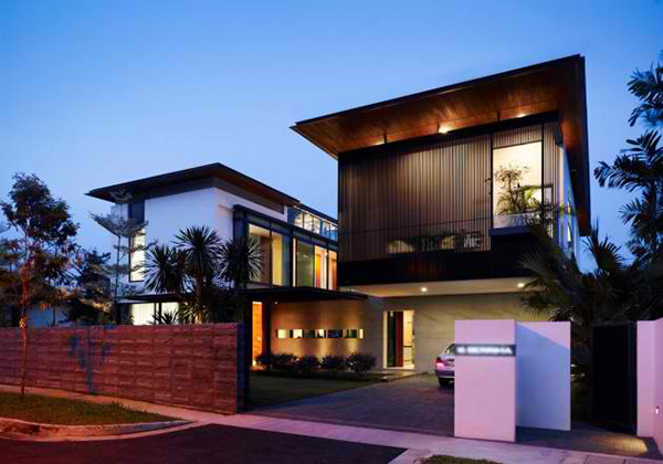 ly Visual Connection in the Berrima House in Singapore | Home ...