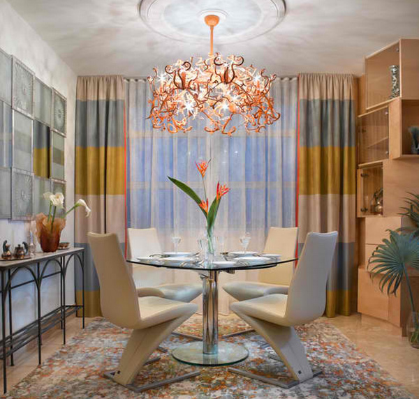 Dining Room Orange: How To Get A Blue And Orange Dining Room