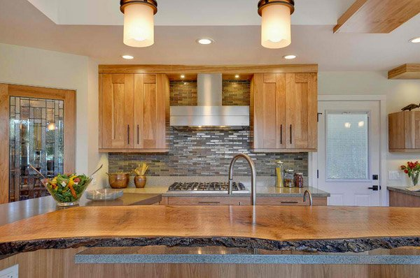 15 Contemporary Wooden Kitchen Cabinets | Home Design Lover