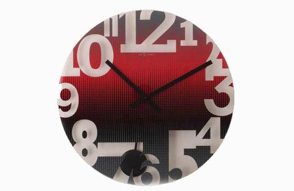 Red Swing Wall Clock