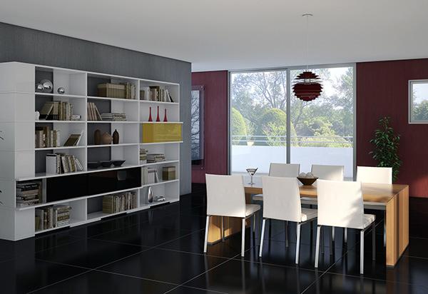 3D Dining Room 1