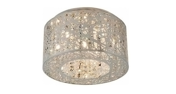ET2 Lighting Seven-Light Inca Flush Mount Ceiling Light