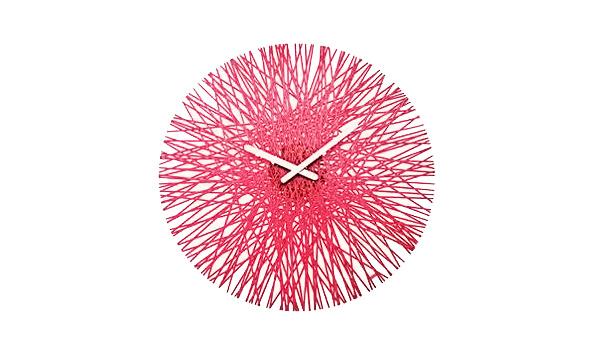 Red Wall Clocks