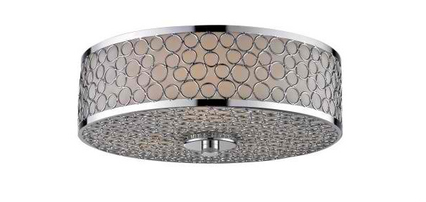 15 silver drum flush mount ceiling lights home design lover silver drum flush mount ceiling lights aloadofball Gallery