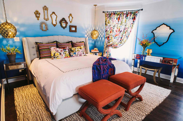 Marvel the 15 Moroccan Bedroom Ideas | Home Design Lover