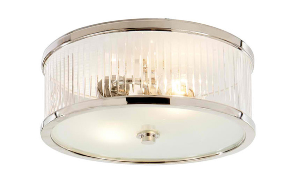 Randolph Large Round Flush Mount