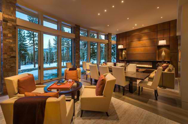 Contemporary Martis Camp House In Lake Tahoe California
