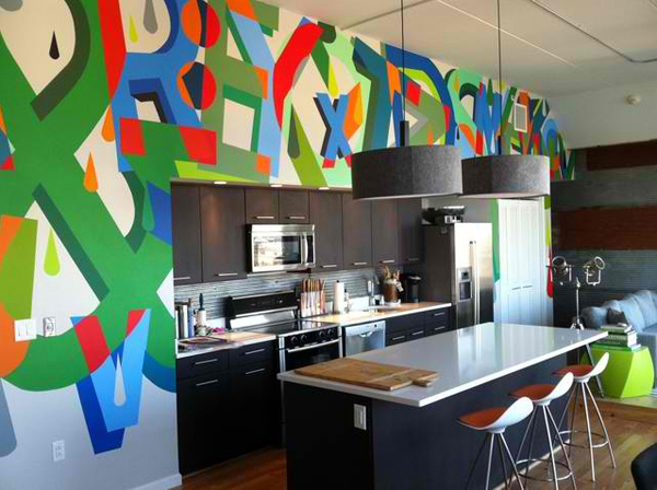 48 Ideas To Achieve Creative Kitchen Art Designs Home Design Lover Cool Kitchen Remodeling Philadelphia Painting