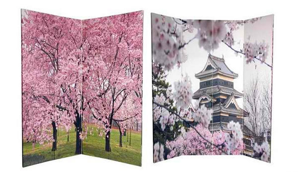 Cherry Blossoms Divider