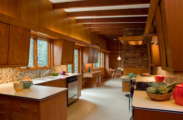 15 Marvelous Mid-century Kitchen Designs