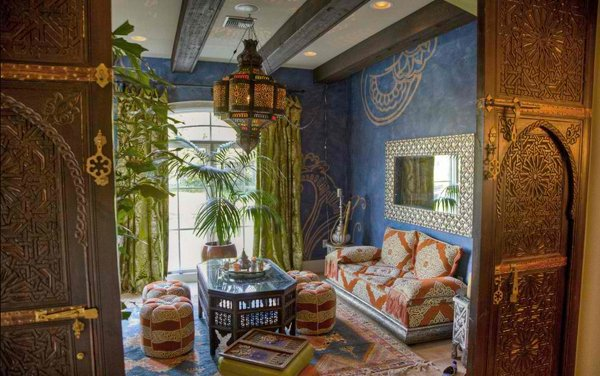Moroccan Living Rooms