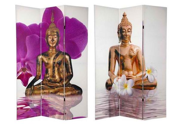 Thai Buddha Room Divider