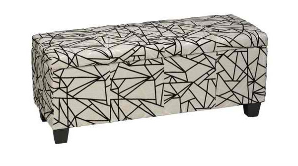 bold geometric pattern