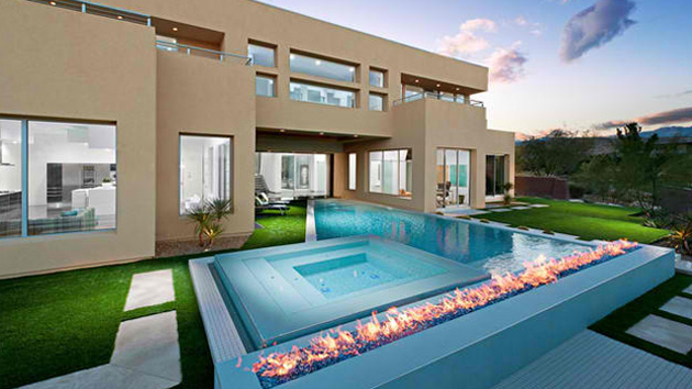 - 15 Dramatic Modern Pool Areas With Fire Pits Home Design Lover