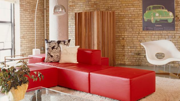 15 Ravishing Red Living Room Furniture Home Design Lover