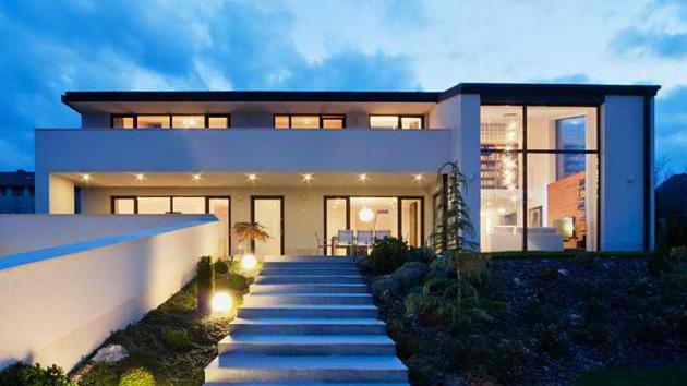 A Modern Villa In The Garden City Of Hungary Home Design