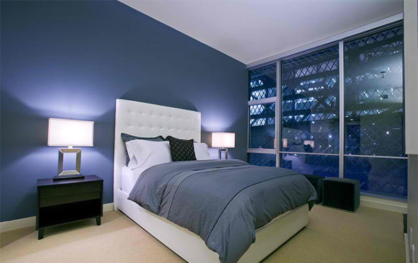 18 ideas for blue contemporary bedrooms home design lover 10886 | 1 draw line