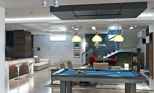gaming area