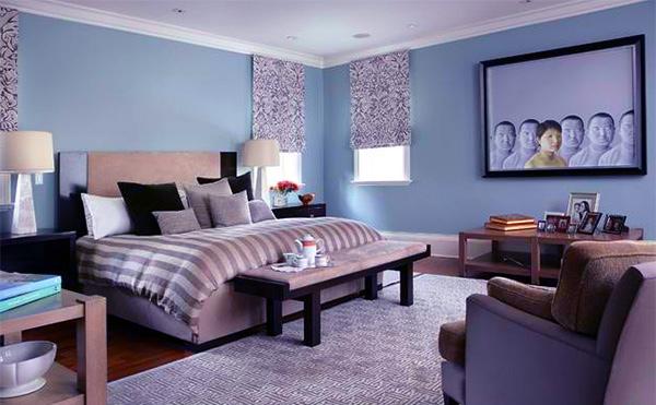 Blue Contemporary Bedrooms
