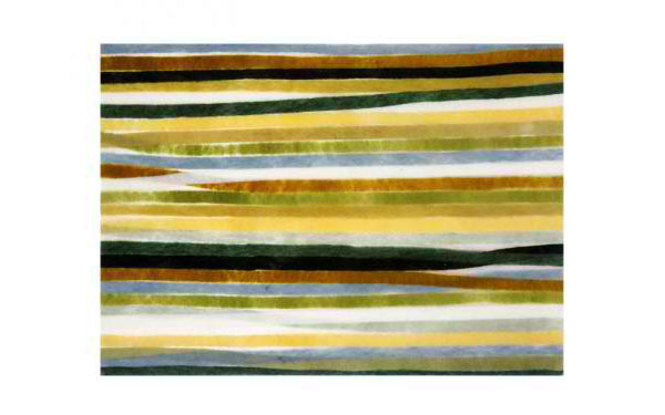Stripes Green Placemats