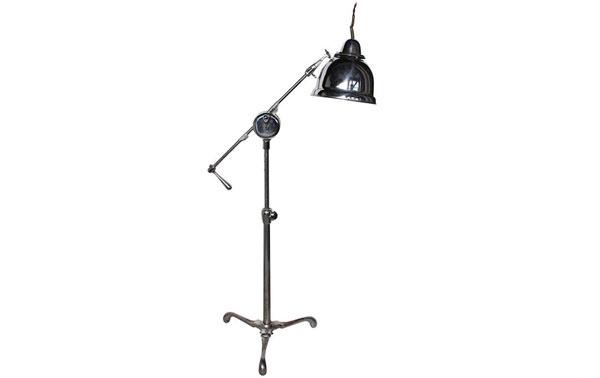 Original American Industrial Floor Lamp