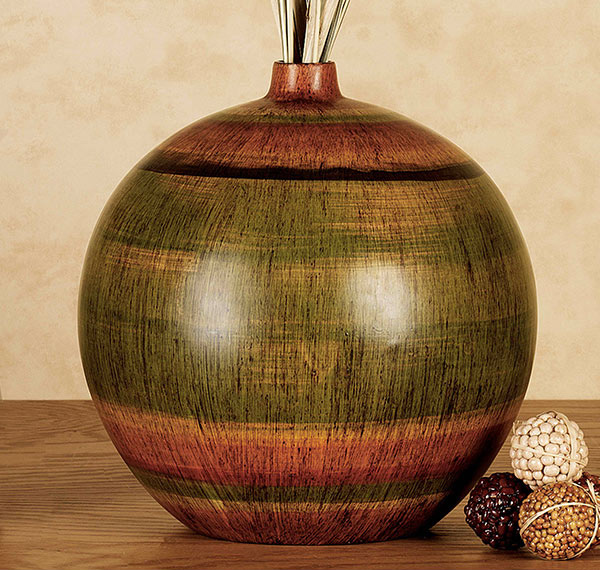 Trayton Striped Table Vase