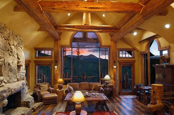 log hybrid house