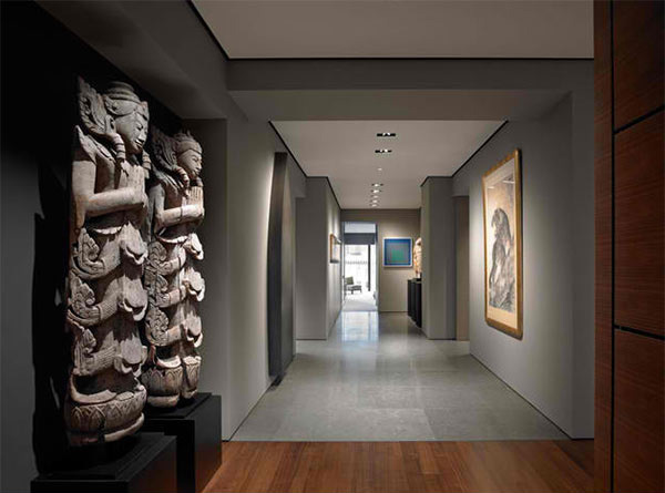 15 Contemporary Hallways With Art Work Decors | Home