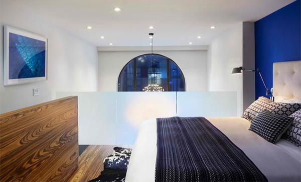 bedroom blue Duplex