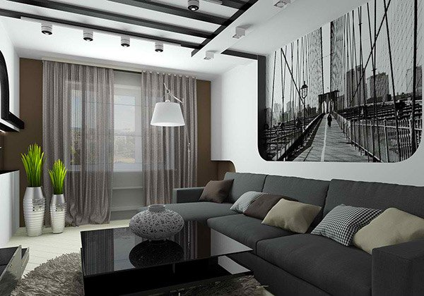 white gray living rooms