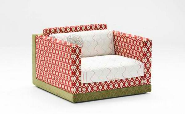 armchair print design