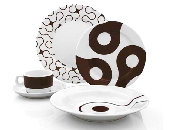 Brown Links 20-piece Dinner Set