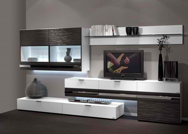 15 classy flat screen tv furniture for your homes home for What does contemporary furniture mean
