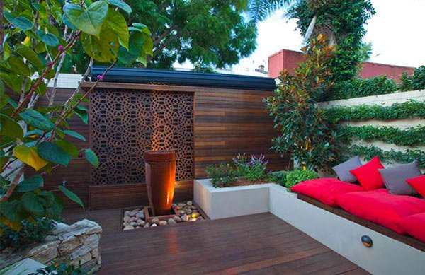 Wooden Patio. Outhouse Design
