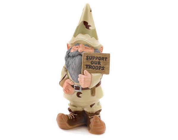 soldier gnome